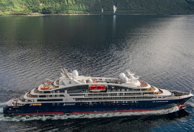 Ponant Cruise's Le Leperouse During Recent Sea Trials