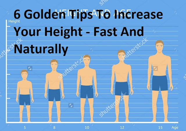 Fast And Naturally Height Kaise Badhaye - How To Increase Height - 6 Golden Tips