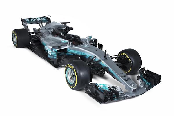 Mercedes amg f1 w08 wallpaper 9