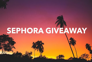 Enter the August $100 Sephora Gift Card Giveaway. Ends 9/14. Open WW