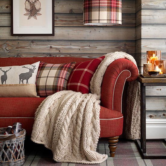 Cosy autumn sofa