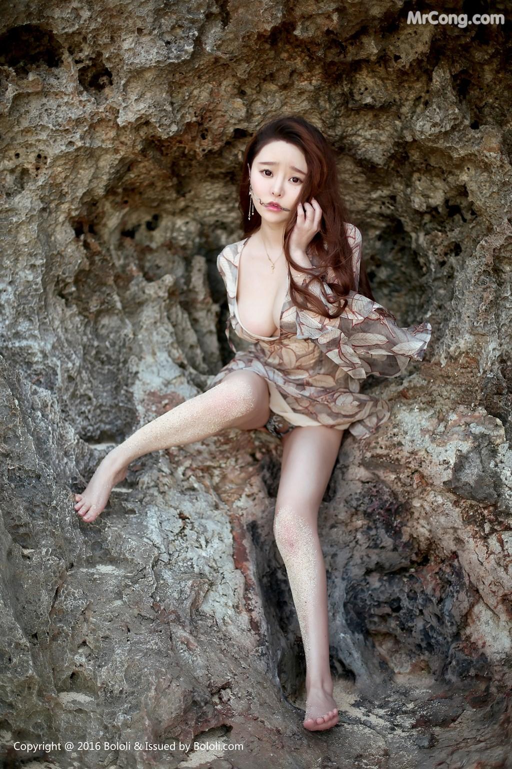 Image Tukmo-Vol.120-Liu-You-Qi-Sevenbaby-MrCong.com-006 in post Tukmo Vol.120: Người mẫu Liu You Qi Sevenbaby (柳侑绮) (46 ảnh)