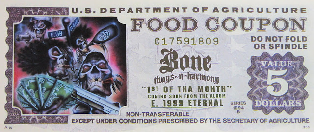 Bone Thugs-N-Harmony  1st of tha month  food coupon