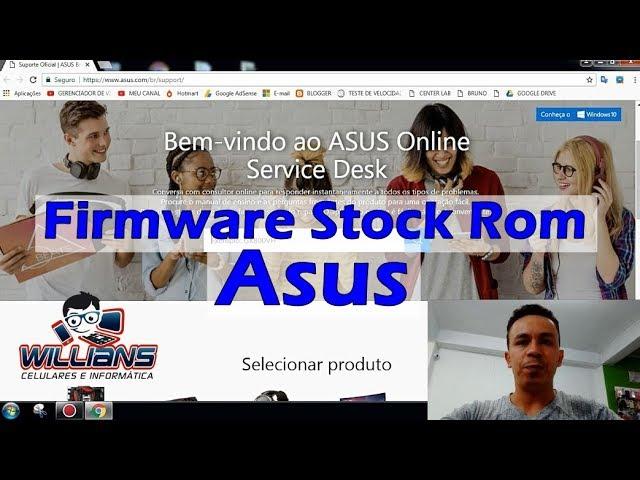Firmware Stock Rom Asus Zenfone, Como Baixar