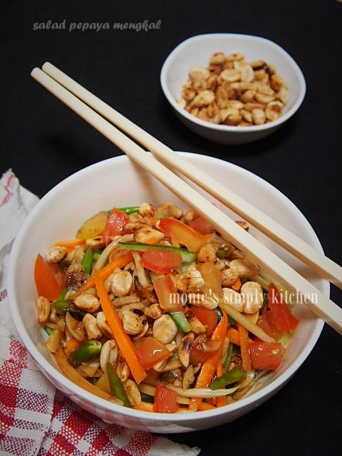 resep salad pepaya muda thai