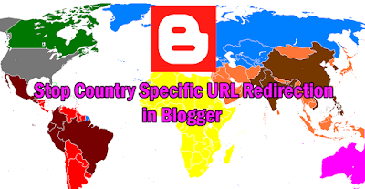 stop redirecting country specific domain