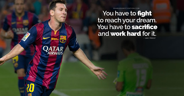 Top Motivational Quotes By Messi