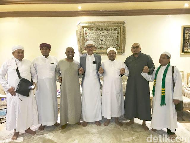 Habib Rizieq Imbau Gerindra-PKS-PAN-PBB Koalisi di Pilpres 2019