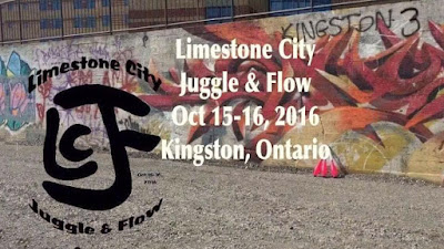 Limestone city Juggle and Flow fest Oct 15-16