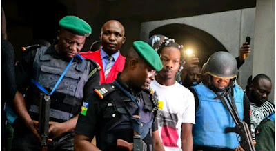 Naira Marley escorted to jail