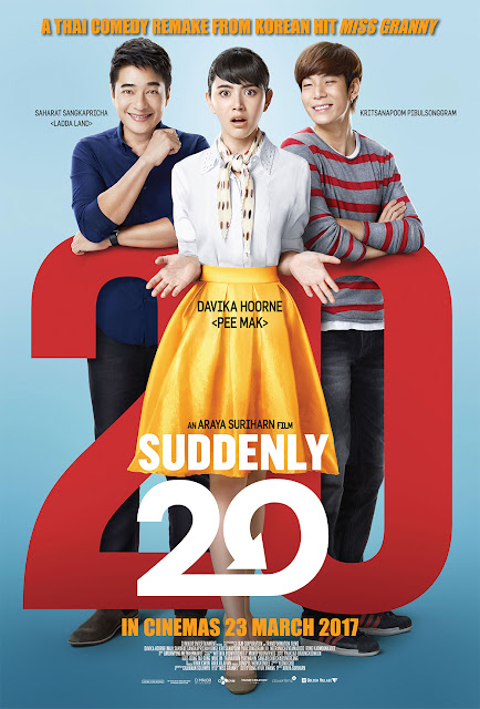 Suddenly Twenty (2016) DVDRip Subtitle Indonesia