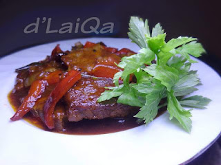 Daging Sapi Saus Barbeque ala Rika