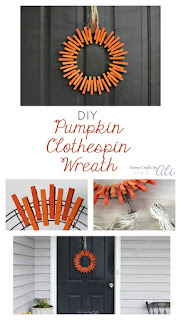 tutorial make clothespin wreath