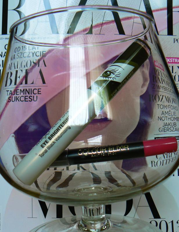 Max Factor, tusz podkreślający kolor tęczówki i flamaster do ust - test kosmetyków.