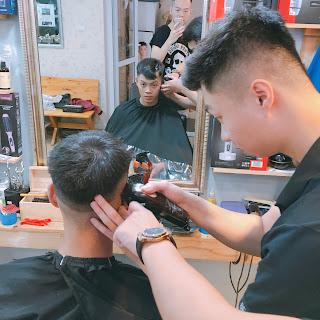 Đào tạo nghề Barber : thực hành trên tóc thật 100% : có chỗ ở miễn phí