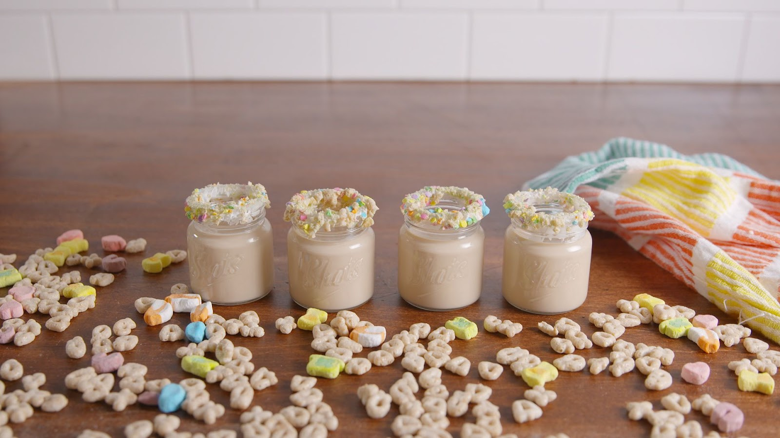 Lucky Charms Shots - food-drink-recipes.com