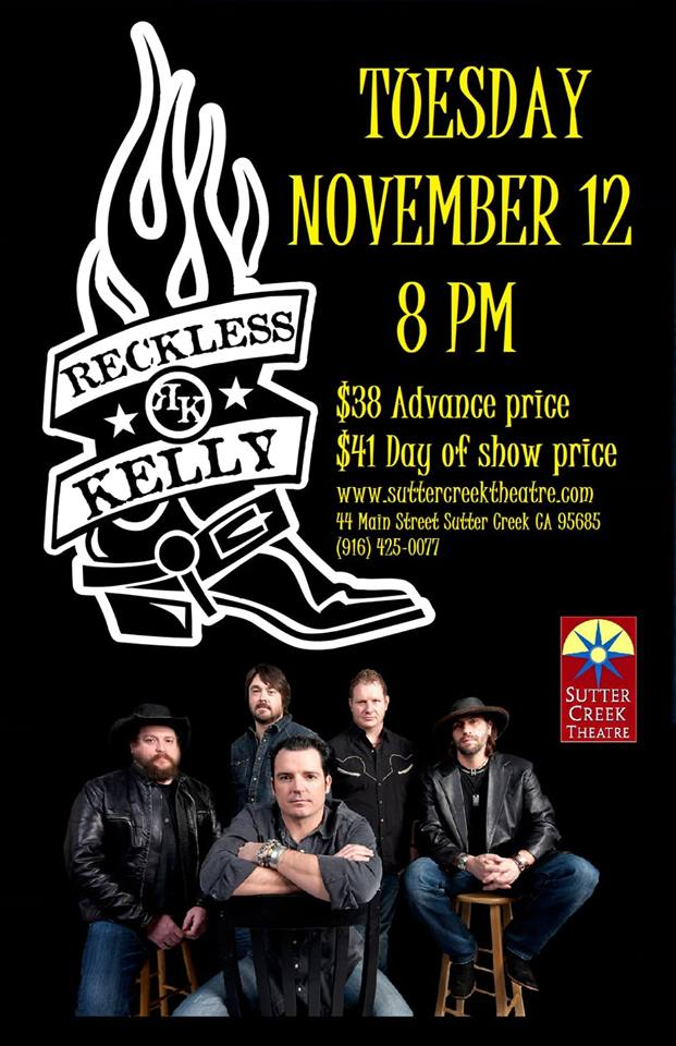 SCT: Reckless Kelly - Tues Nov 12