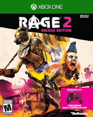 Rage 2 Game Cover Xbox One Deluxe Edition