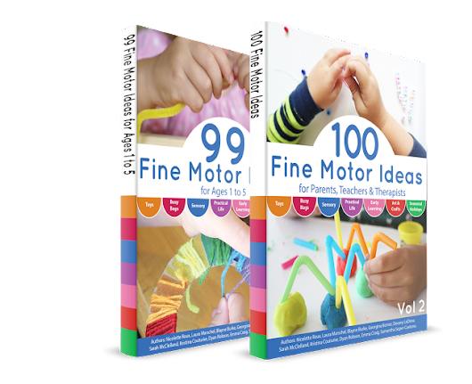 20 Fine Motor Painting Activities and Our NEW BOOK!