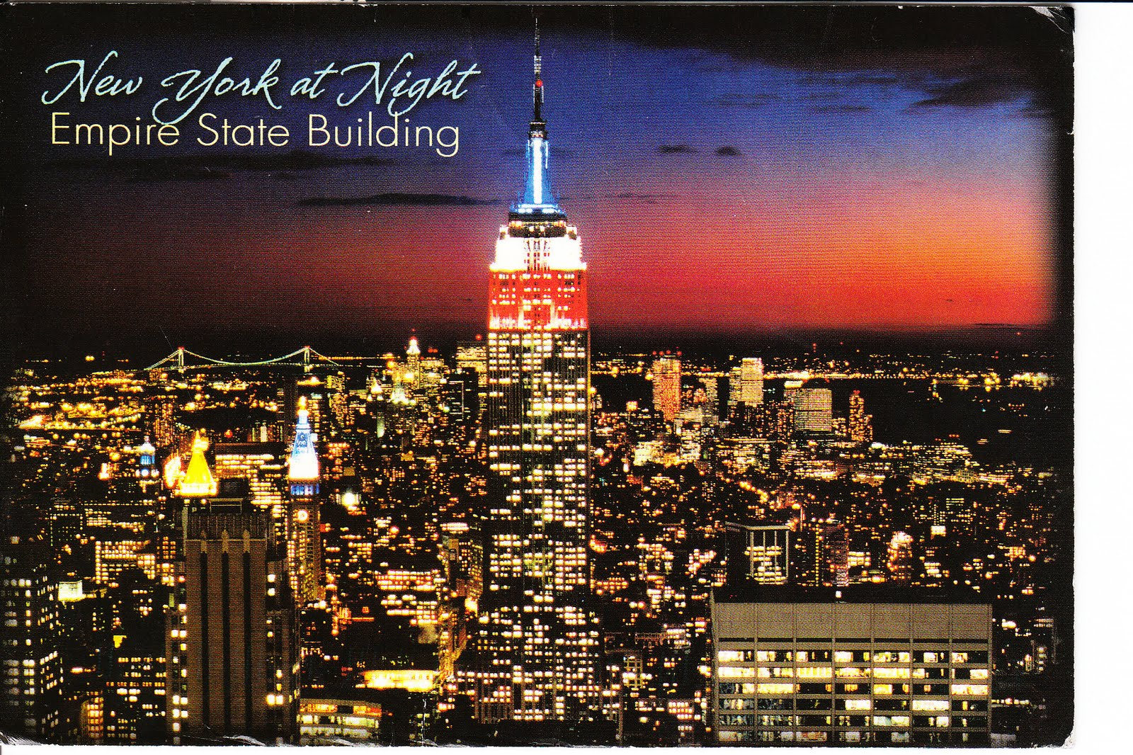Encyclopedia: Empire State Building at Night