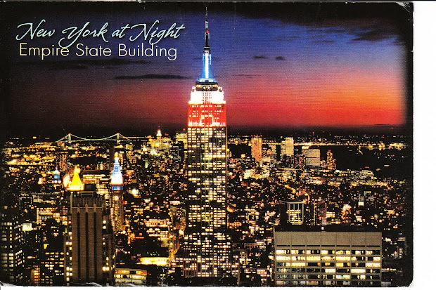 Encyclopedia Empire State Building Night