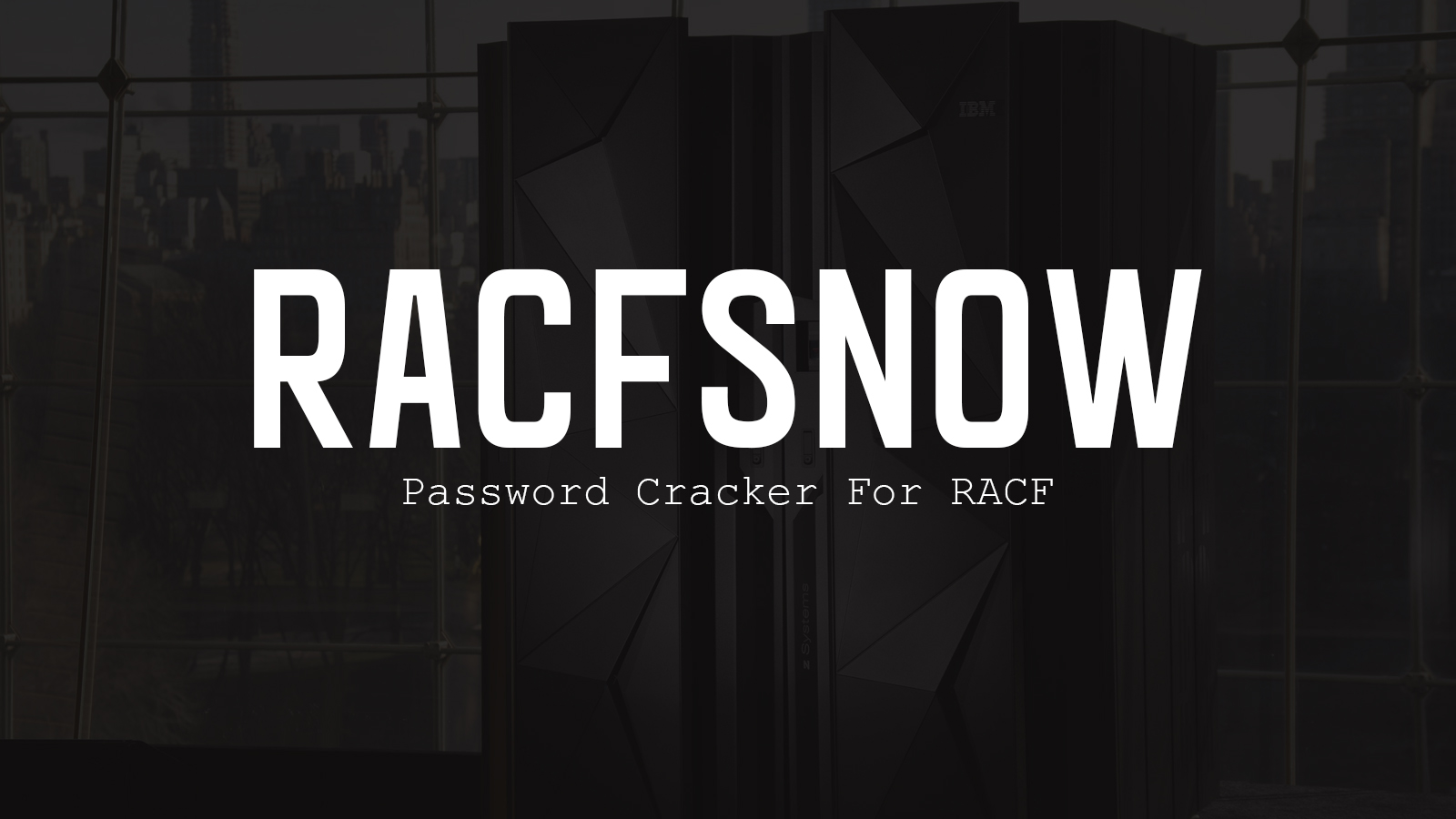 RACFSNOW - Password Cracker For RACF
