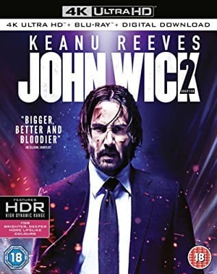 John Wick 2 - Um Novo Dia Para Matar 4K UHD Filme Torrent Download