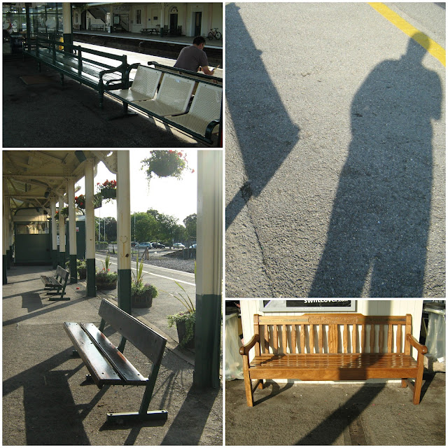 Benches at Chippenham Station