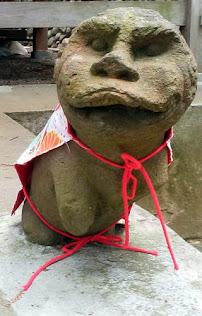 宇津貴熊野神社 神使い