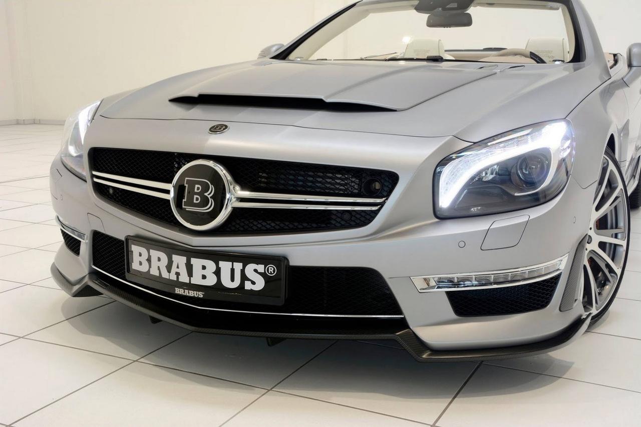 brabus 800 roadster based on mercedes amg r231 sl65 benztuning. Black Bedroom Furniture Sets. Home Design Ideas