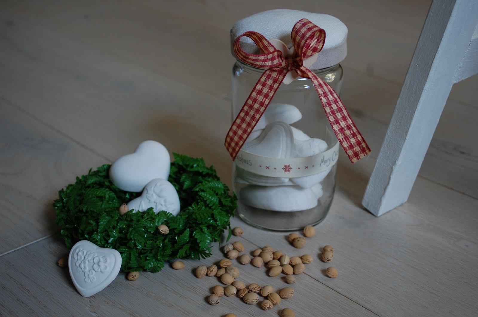 Lavoretti Di Natale Con Il Gesso.Cuore Coccole By Francy Cuori Di Gesso Per Natale