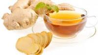 Teh jahe obat tradisional/alami menyembuhkan batuk berdahak