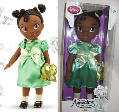 """Большая игровая кукла малышка Дисней из мультика """"Принцесса и лягушка"""""""