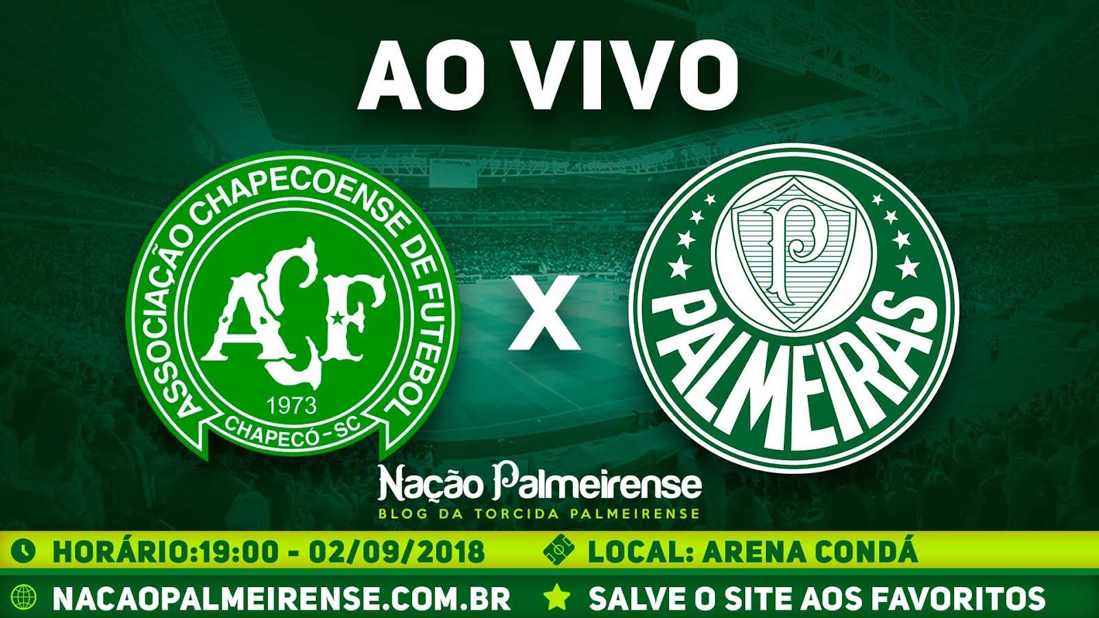 Assistir Chapecoense x Palmeiras Ao Vivo Ao Vivo
