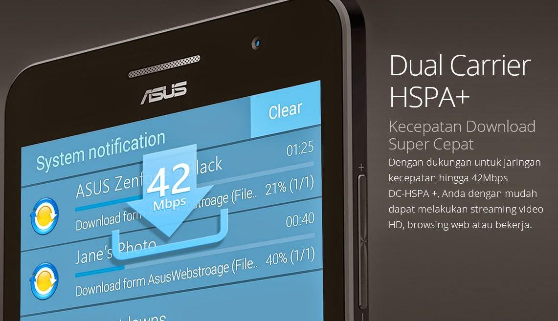 Dual Carrier HSPA+ Download lebih cepat 42 Mbps