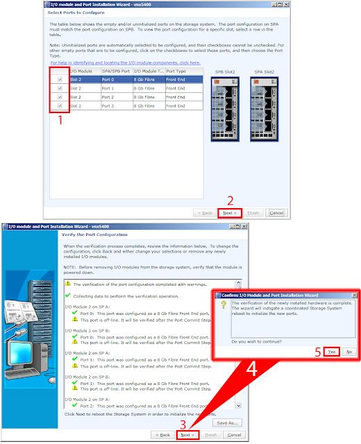 Select Ports to Configure