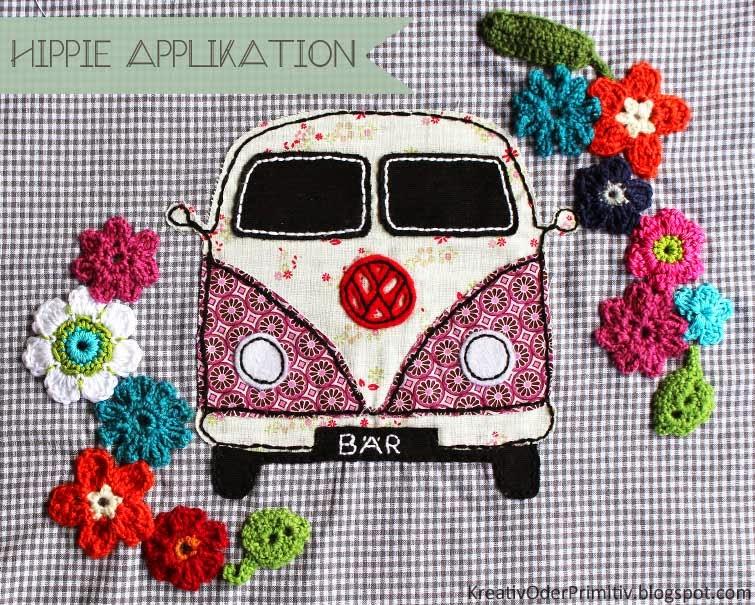 Kreativ Oder Primitiv Vw Bus Applikation