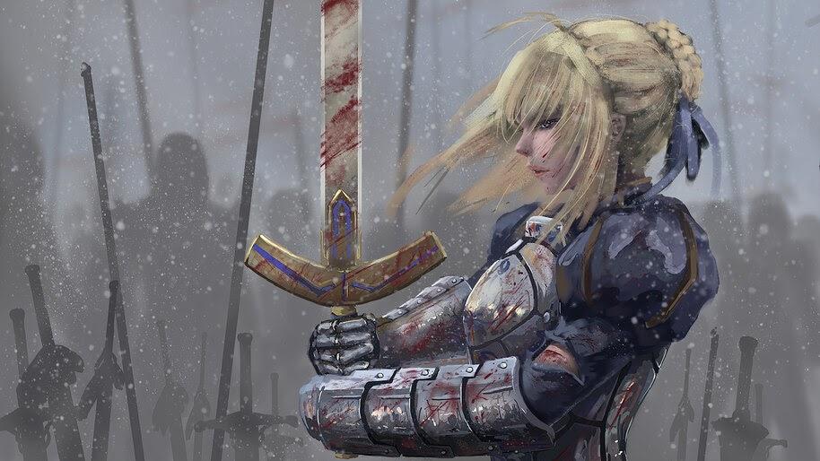 Saber, Artoria Pendragon, Fate/Grand Order, 4K, #6.2328