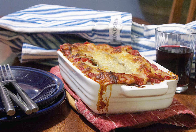 Meatless Monday: Lasagna