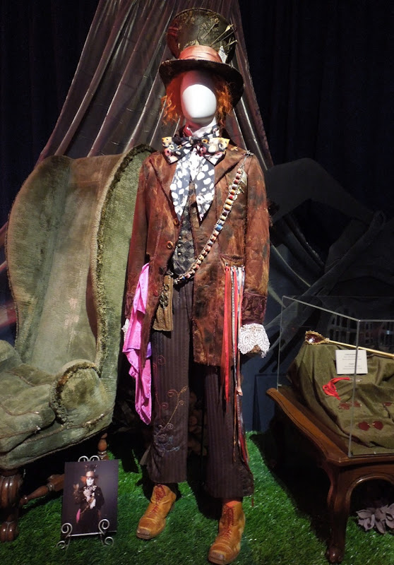 Johnny Depp Mad Hatter costume Alice in Wonderland