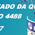 Resultado da Quina/Concurso 4488 (22/09/17)