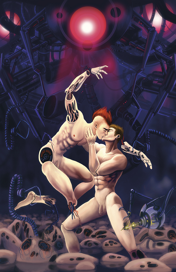 Digital illustration by jaxinto myth, gay art, comics and illustrations