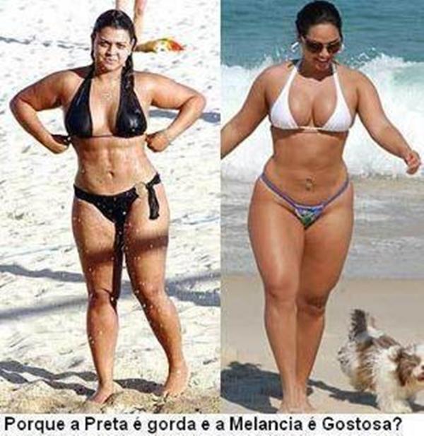 Por que a Preta Gil é gorda e a Mulher Melancia é sexy?