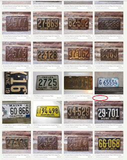 ranking for vintage license plates
