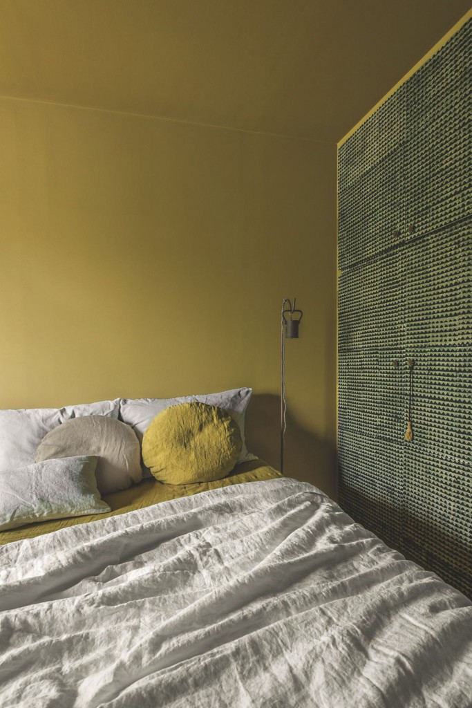 Chez Odile Baudry de Secret Maison sur l'île de Ré - lin lavé