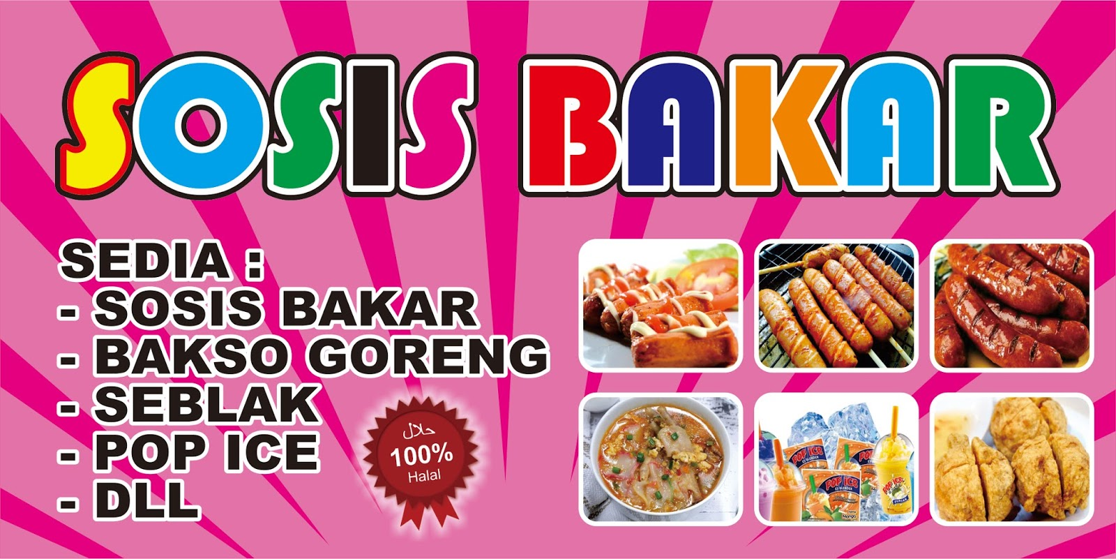Download 450+ Background Banner Sosis Bakar Terbaik