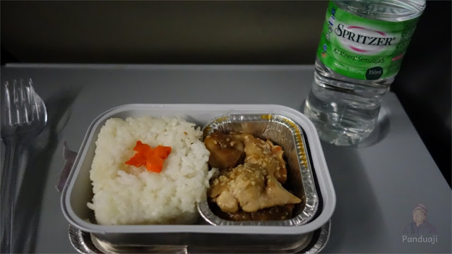 Chicken Teriyaki di Air Asia KLIA - Haneda