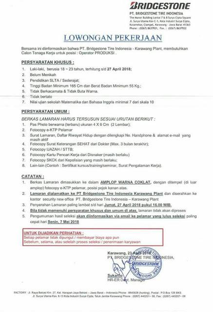 Lowongan Kerja PT Bridgestone Tire Indonesia 2018.jpg