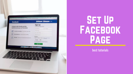 How Set Up Facebook Page<br/>