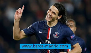 Aydenson Cavani -  Paris Saint-Germain - Real Madrid